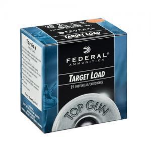 """Federal TG2075 Top Gun Target 20 Ga 2.75"""" 7/8oz 7.5 Shot 25Box/10Case TG20 7.5"""