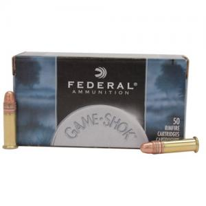Federal Game-Shok .22LR 40GR Copper-Plated Solid Point 50rds 710