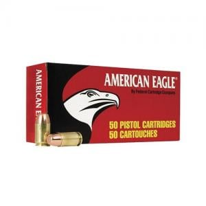 Federal American Eagle .45 ACP 230GR FMJ Value Pack 100rds 029465062460