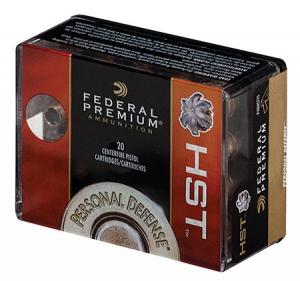 Federal Personal Defense 9mm 124GR HST 20Rds 029465063924