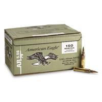 Federal American Eagle Green Tip, .223 (5.56x45mm), FMJ, 62 Grain, 150 Rounds XM855BK150