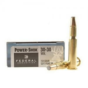 Federal Power-Shok .30-30Win 150GR SPFN 20Rds 3030A