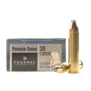 Federal PWRSHK 30CARB 100GR SPRN 20rds 30CA