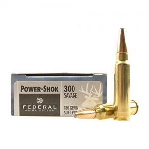 Federal PWRSHK 300SAV 180GR SP 20rds 300B