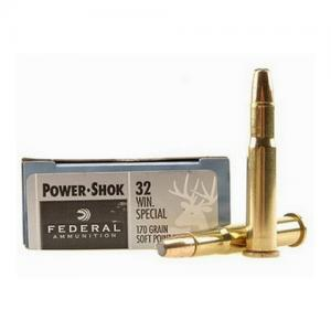 Federal PWRSHK 32Winchester SPL 170GR SP 20rds 32A