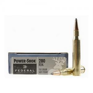 Federal PWRSHK 280REM 150GR SP 20rds 280B