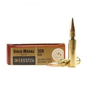 Federal Gold Medal .308Win 168GR BTHP 20rds GM308M
