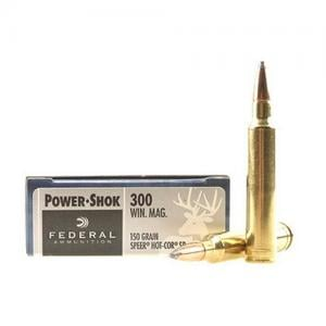 Federal PWRSHK 300WIN 150GR SP 20rds 300WGS