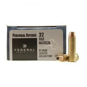 Federal Personal Defense, 32H&R, 85 Grain, Jacketed Hollow Point 20rds C32HRB