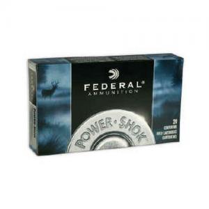 Federal PWRSHK .270 WSM 130GR SP 20rds 270WSME