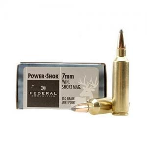 Federal PowerShok 7mm WSM 150GR SP 20rds 7WSME
