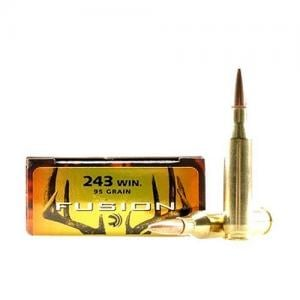 Federal Fusion .243 Win 95GR BT 20rds F243FS1