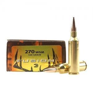 Federal Fusion .270 WSM 150GR 20rds F270WSMFS1