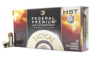 FEDERAL AMMUNITION 45 ACP 230 gr HST Hollow Point Tactical 50/Box P45HST2