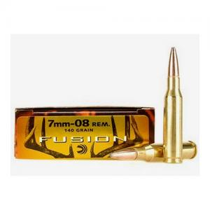 Federal Fusion 7mm-08 140GR BT 20Rds F708FS1