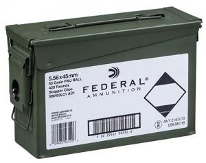 Federal XM193 55 Grain Full Metal Jacket Brass 5.56 420Rds XM193LC1AC1