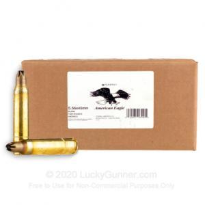 Federal Xm200cs 5.56mm Blank Loose Pack Ammo 2000bx 029465565480