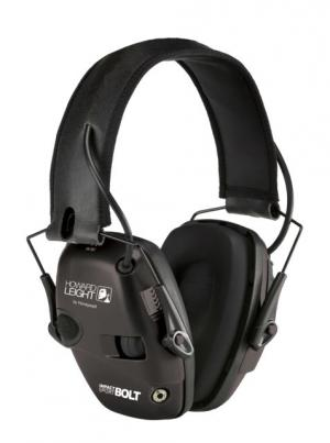 Howard Leight Impact Sport Bolt Electronic Earmuff, Black,One size fits most, R-02525 R02525