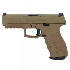 Stoeger STR-9 9mm FDE/Cerakote Pistol w/ (3) 15Rd Mags and 3 Backstraps 31729 037084317298