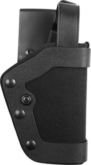 Uncle Mike's Slimline PRO-3 Holster, Kodra Nylon, Right Hand, Beretta 9mm, .40, S&w 10mm, .45 043699352012