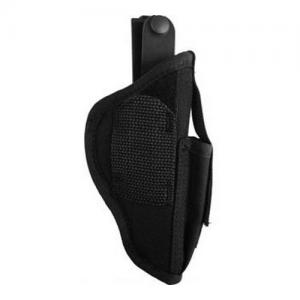 Uncle Mikes Ambidextrous Hip Holster with Pouch SZ 1 Black 70010