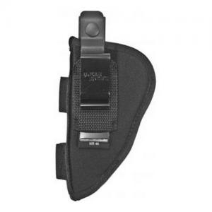 Uncle Mikes Ambidextrous Hip Holster with Pouch SZ 5 Black 70050