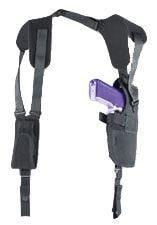Uncle Mike's Pro-Pak Shoulder Holster, Right Hand, Black - 3-4in BBL Medium Autos 7501-1 75011