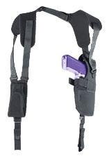 Uncle Mike's Pro-Pak Shoulder Holster, Black, Right Hand - 3.75-4.5in bbl Large Autos 7515-1 75151