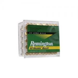 Remington Golden Bullet .22LR 40GR Plated Lead Round Nose 100Rds 1500