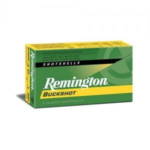 Remington Express Buckshot 12GA 2.75-inch 00BK 9 Pellets 5Rds 12B00