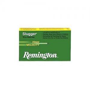 Remington Slugger 12GA 3-inch 1 oz Rifled Slug 5rds S12MRS