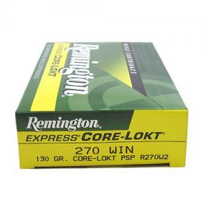 Remington Express CORE-LOKT .270Win 130GR PSP 20Rds R270W2