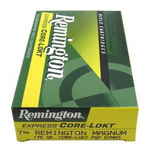 Remington 7MM Remington 175GR PSP Core-Lokt 20rds R7MM3