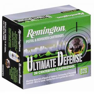 Remington Ammunition Ultimate Defense .38 SPL 125GR BJHP 20Rds HD38SBN