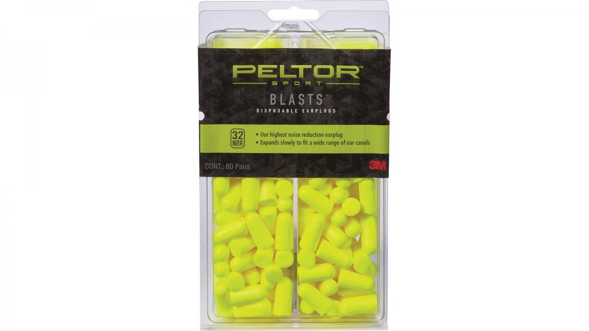 Peltor 97082-PEL-6C Sport Blasts Disposable Earplugs 97082