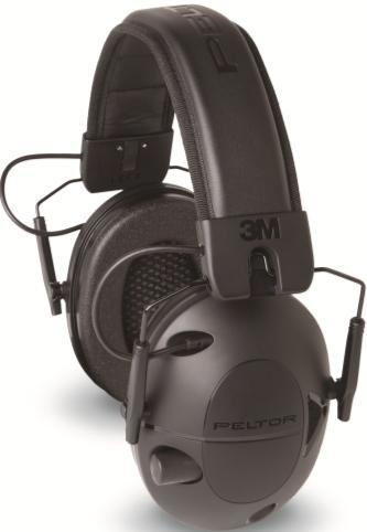 Peltor Tactical 100 Electronic Hearing Protector Earmuffs, 22dB, Black TAC100-OTH TAC100OTH