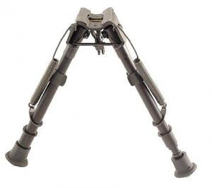 Harris Engineering LM 9-13in. Solid Base Bipod, Black - LM1A2 1A2LM