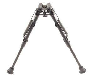 Harris Engineering L Bench/Prone 1A2 Base 9-12 in. Bipod, Black L1A2 1A2L
