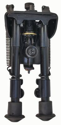 Harris Engineering Ultralight Hinged Base 6-9 Inch Bipod, Black BR SBR