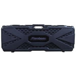 "Flambeau Safe Shot Tact. Rifle Hard Case Egg Shell Foam Molded 40"" Black, 6500AR 071617026899"
