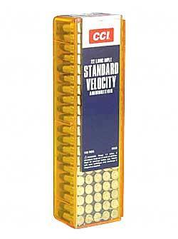 CCI Standard Velocity .22LR 40GR Lead Round Nose 100Rds 32