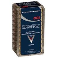 CCI, .22LR, Subsonic CPSHP, 40 Grain, 50 Rounds 0074