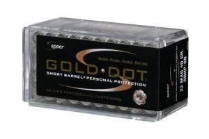CCI/Speer Speer Gold Dot 22 MAG 40Gr GDHP-SB GDHP-SB