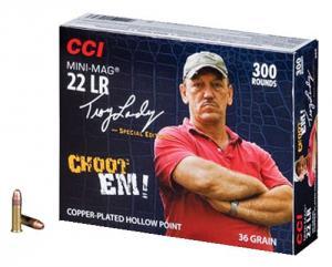 CCI Mini-Mag .22LR 36GR Copper-Plated HP 300Rds 962