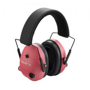 Champion Targets Electronic Ear Muffs Pink 40975