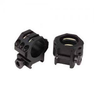Weaver Tactical Ring 6 Hole Hi 1 inch Matte 48350