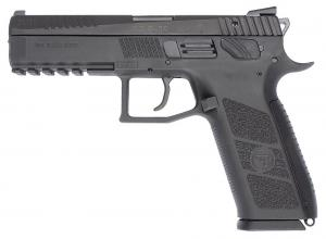 """CZ P-09 Duty 40 S&W 4.3"""" 15+1 Polymer Grips Black Finish 080670391621"""