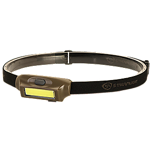 Streamlight Bandit Headlamp Coyote White / Green LED 180 Lumens 61707 61707