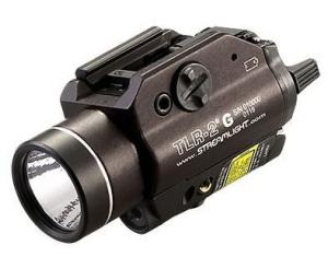 Streamlight TLR-2G LED Rail-Mounted Tactical Light with Green Laser, 69250 69250