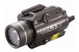 Streamlight TLR-2 HL G Rail Mounted Flashlight with Green Laser - 800 Lumens, Black 69265 69265